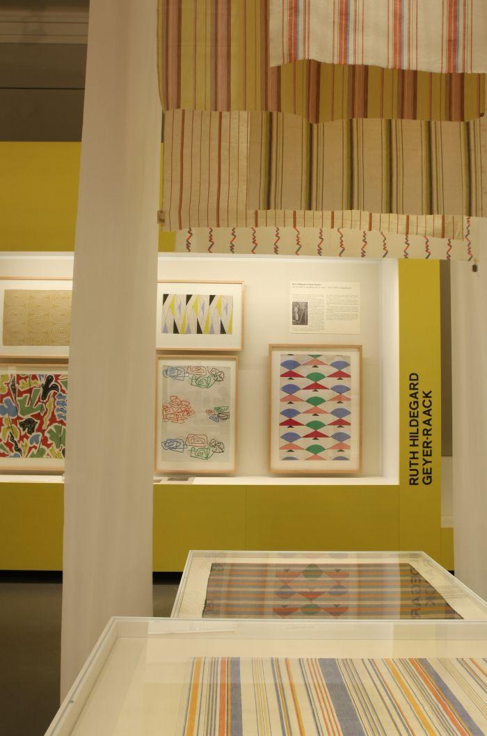 Works by Ruth Hildegard Geyer-Raack, as seen at Against Invisibility – Women Designers at the Deutsche Werkstätten Hellerau 1898 to 1938, Japanisches Palais Dresden