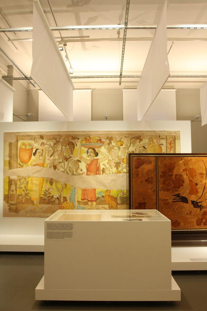 Works by Ulla Schnitt-Paul, as seen at Against Invisibility – Women Designers at the Deutsche Werkstätten Hellerau 1898 to 1938, Japanisches Palais Dresden
