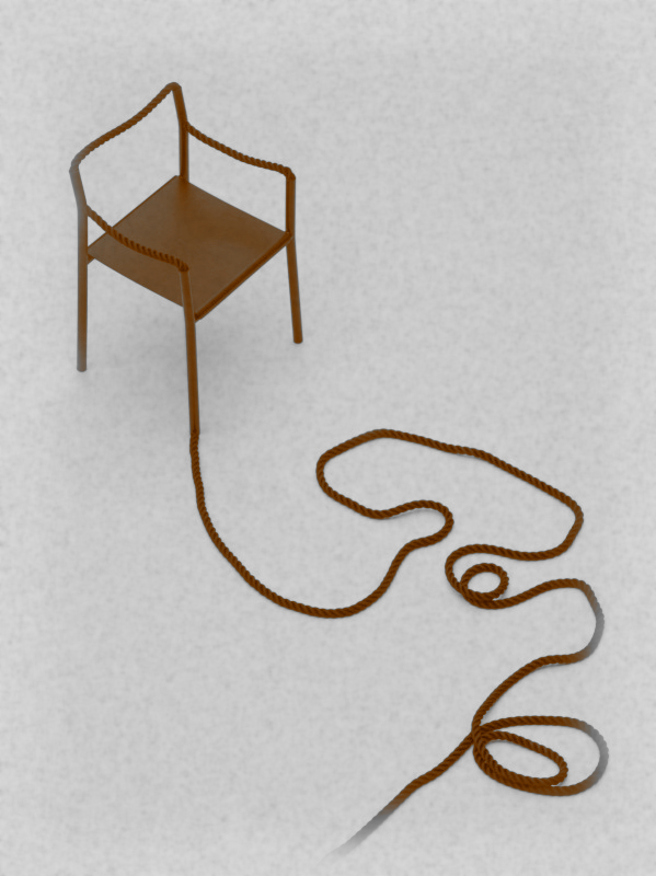 Rope Chair by Ronan et Erwan Bouroullec for Artek (original photo from The Historia Supellexalis)