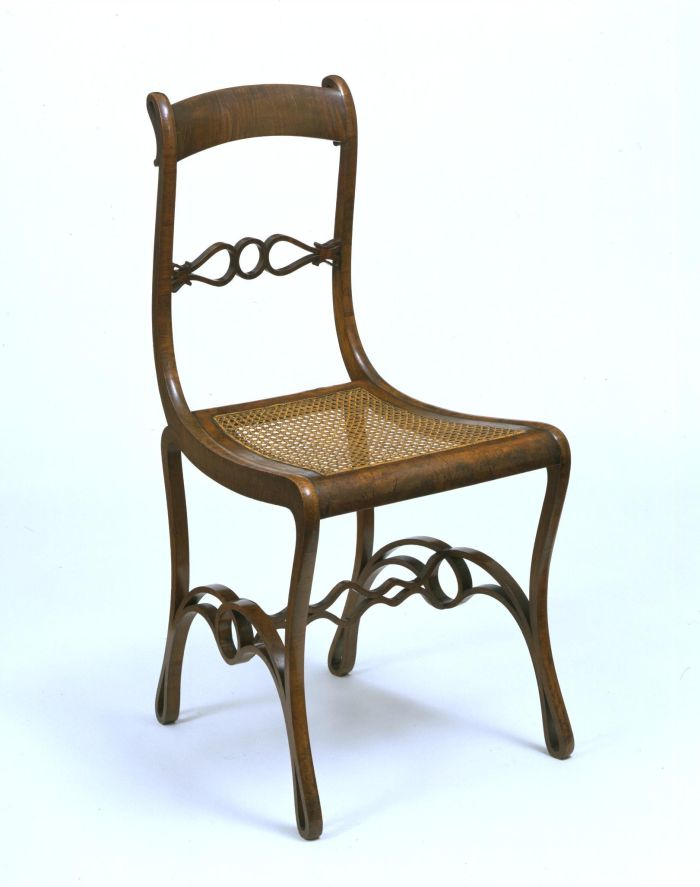 Boppard Chair by Michael Thonet, ca 1836-1840 /(photo © & courtesy Victoria and Albert Museum, London)