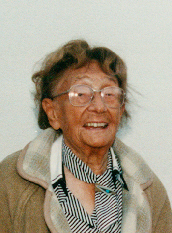 Margarete Schütte-Lihotzky (1897-2000) (Photo Werner Faymann, source https://commons.wikimedia.org)