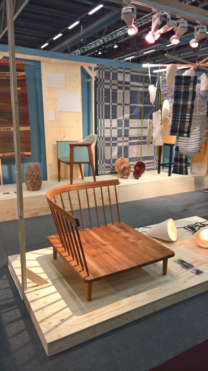 Capellagarden Trä by Lea Lacroix, as seen at Stockholm Furniture Fair 2019