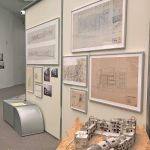 Models and sketches for the 1982 Kassel Documenta Urbana, as seen at Die Neue Heimat (1950–1982). A Social Democratic Utopia and Its Buildings, the Architekturmuseum der TU München