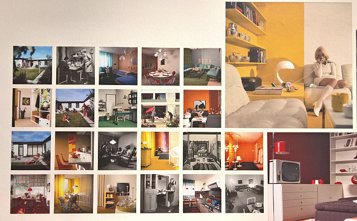 Interiors and furniture, as seen at Die Neue Heimat ­(1950–1982). A Social Democratic Utopia and Its Buildings, the Architekturmuseum der TU München