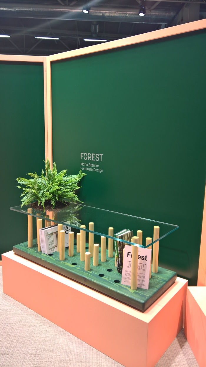 Forest by Maria Sterner, as seen at Stockholm Furniture Fair 2019