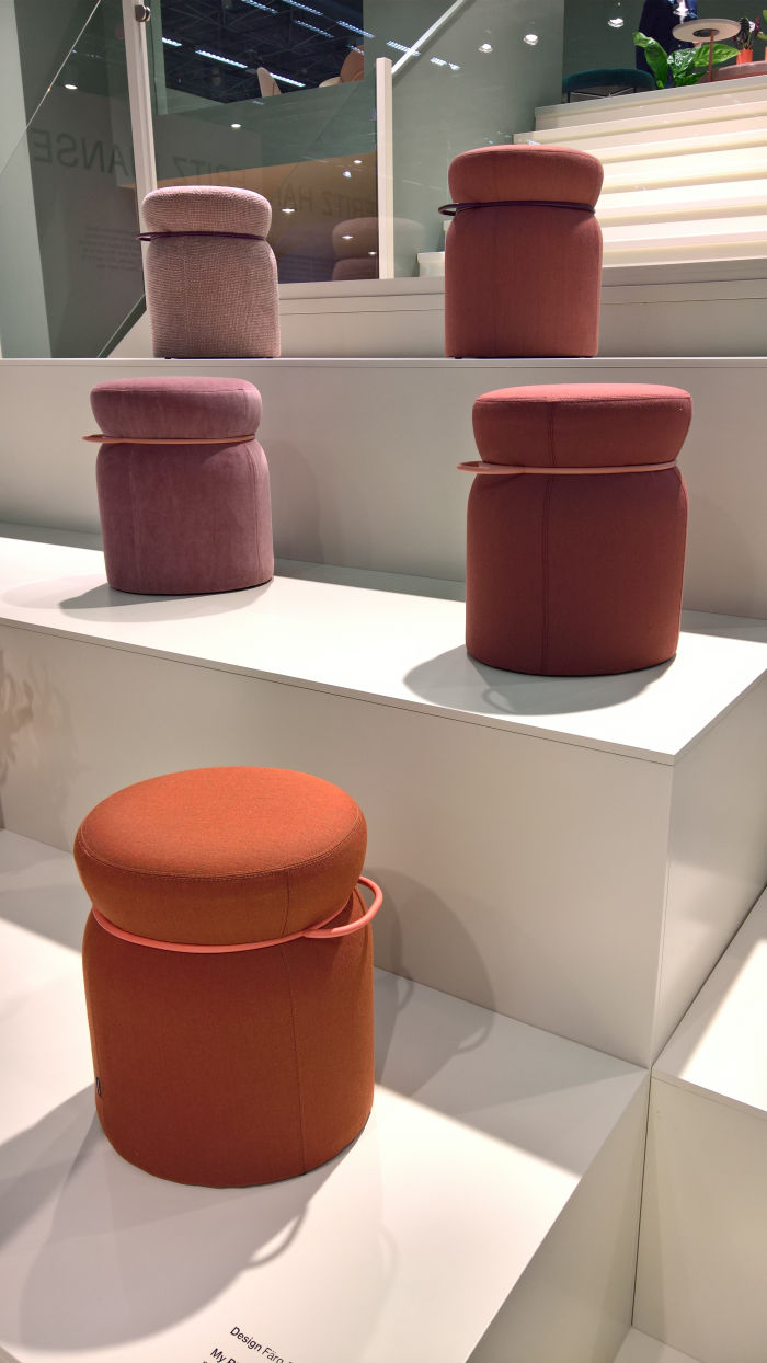 My Ring by Färg & Blanche for Johanson, as seen at Stockholm Furniture Fair 2019