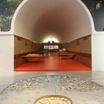 Inside Sangath, as seen at Balkrishna Doshi. Architecture for the People, Vitra Design Museum