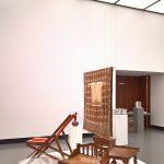Furniture by Rathindranath Tagore, as seen at Bauhaus Imaginista, Haus der Kulturen der Welt, Berlin