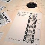 bauhaus film. fünf jahre lang by Marcel Breuer, and copies of the Bauhaus magazine, as seen at Bauhaus Imaginista, Haus der Kulturen der Welt, Berlin