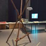 """A """"roadside chair"""" by Lina Bo Bardi, as seen at Bauhaus Imaginista, Haus der Kulturen der Welt, Berlin"""