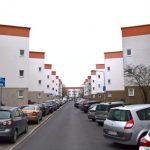 Siedlung Bruchfeldstraße, Frankfurt the Zick-Zack-Hausen by Ernst May and Carl-Hermann Rudloff, realised in context of Neue Frankfurt