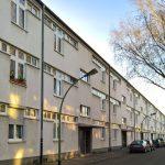 Siedlung Hellerhof, Frankfurt by Mart Stam, realised in context of Neue Frankfurt