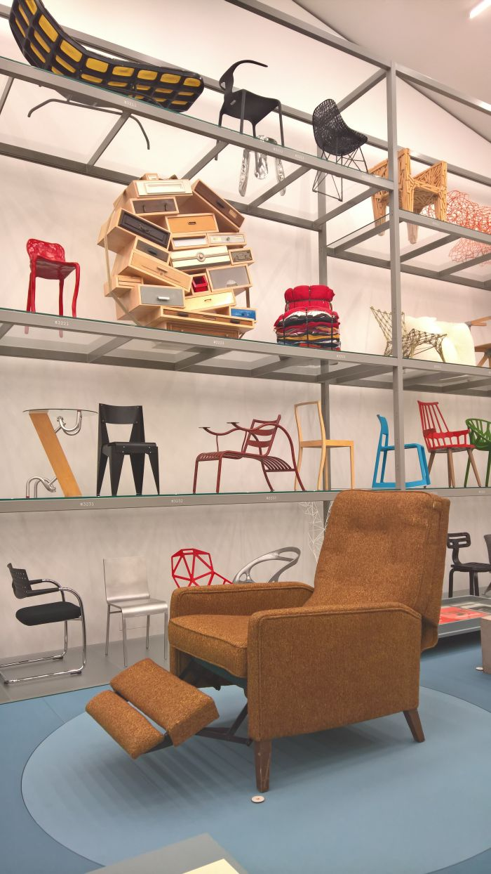 BarcaLounger 800 Tempo by Anton Lorenz for Barcalo, as seen at Anton Lorenz: From Avant-Garde to Industry, Vitra Design Museum Schaudepot, Weil am Rhein