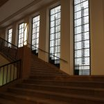 Albers Windows in the main staircase at the Grassi Museum Leipzig.....