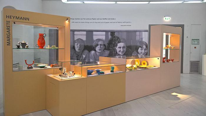 "Works by Margarete Heymann, as seen at Four ""Bauhausmädels"", Angermuseum, Erfurt"