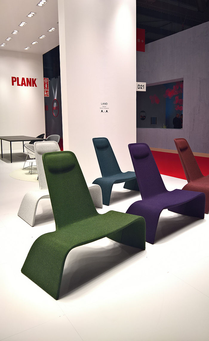 Land by Naoto Fukasawa for Plank, as seen at Milan Furniture Fair 2019