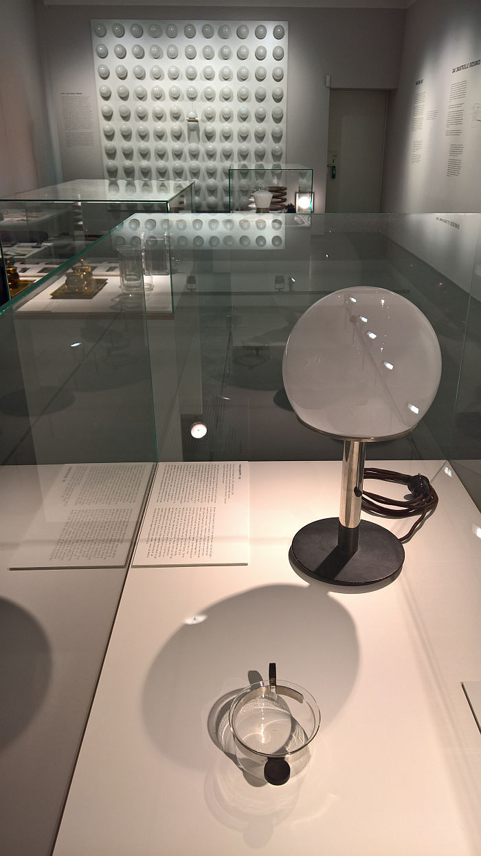 Wilhelm Wagenfeld - from the W1 Bauhaus Lamp to WV 343 for Lindner, as seen at Unique Piece or Mass Product?, Werkbundarchiv – Museum der Dinge, Berlin