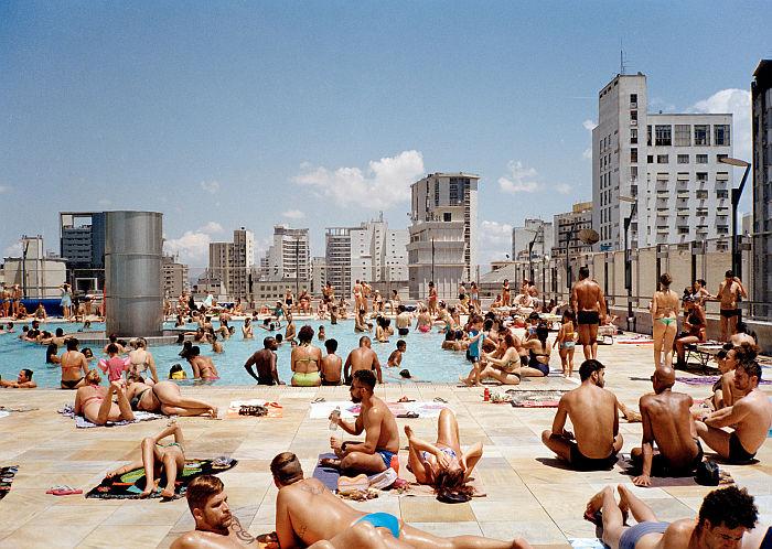 Terrasse, Serviço Social do Comércio São Paulo (Photo © Ciro Miguel, courtesy Architekturmuseum der TU München)