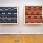 Two works by Sigmund von Weech, as seen at Bauhaus. Textiles and Graphics, Kunstsammlungen Chemnitz