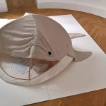 Oli, the play tent/whale, as seen at Navara, the Embassy of Slovenia, 3daysofdesign Copenhagen 2019