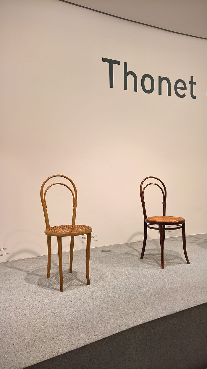 Nr 14 Michael Thonet, as seen at Thonet & Design, Die Neue Sammlung - The Design Museum, Munich