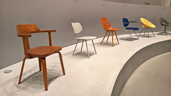 Works by Walter Gropius, Benjamin C. Thompson & Kurt Felkel, as seen at Thonet & Design, Die Neue Sammlung - The Design Museum, Munich