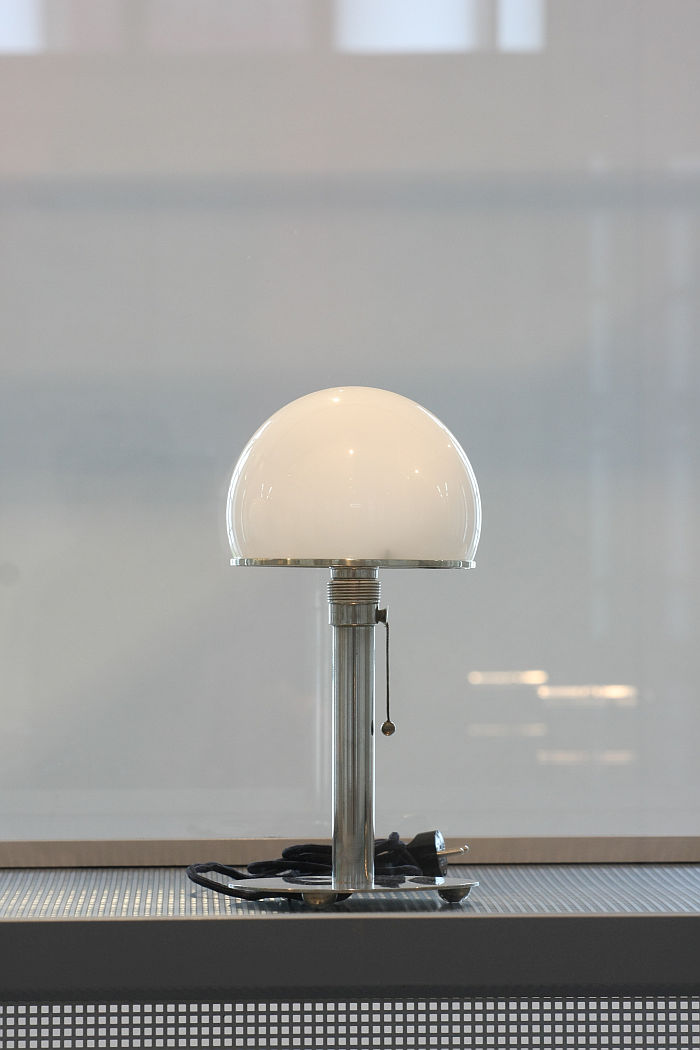 A lamp that needs no introduction....., as seen at Wilhelm Wagenfeld: Lamps, Wilhelm Wagenfeld Haus, Bremen