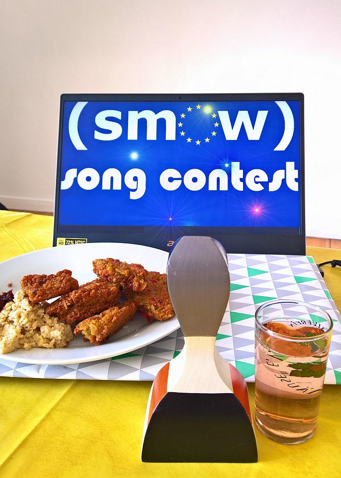 Falafel, Hummus, Livestream..... smow Song Contest 2019