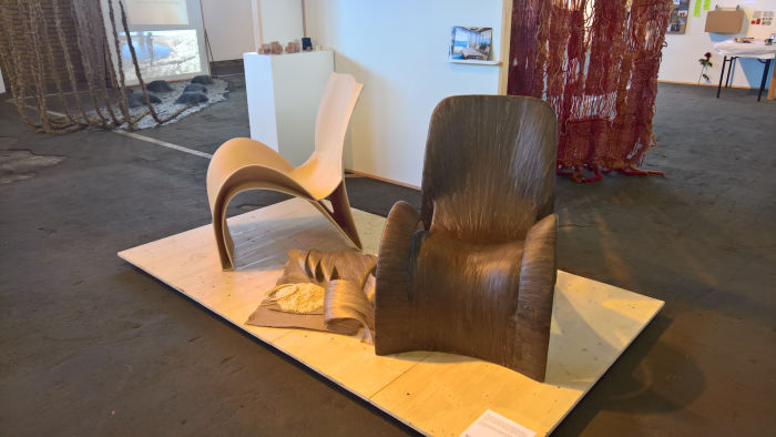 From company to form with sustainability in mind by Malin Fleen, as seen at Degree Show 2019 HDK Gothenburg