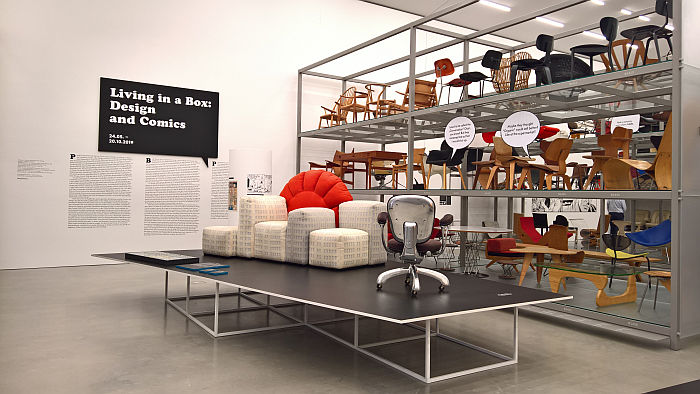 Living in a Box. Design and Comics, Vitra Design Museum Schaudepot
