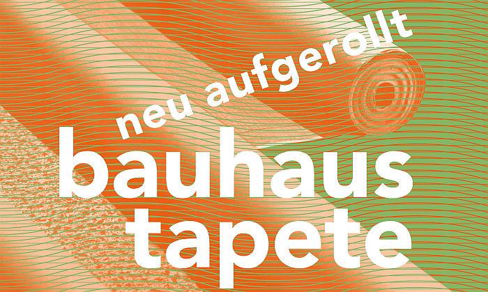 New rollout. bauhaus wallpaper at the Kulturgeschichtlichen Museum Osnabrück (Photo Ullstein-Werbe-Beratung, courtesy Stadt Osnabrück)