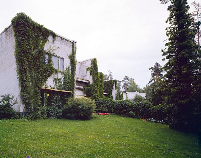 Alvar Aalto Townhouses for officers of the Sunila factory in Karhula, Kotka (Photo: Simo Rista/Museum of Architecture, courtesy Museum of Architecture)