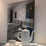"""Coffee service """"Diamant"""" by Astrid Löffler-Lucke for VEB Porzellanwerk Freiberg, as seen at Rudolf Horn - Wohnen als offenes System, the Kunstgewerbemuseum Dresden"""