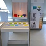 Interactive Colour Laboratory by Enzo Zak Lux, as seen at Rundgang 2019, Kunsthochschule Berlin Weissensee