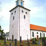 Vickleby church by Edvard Munch........(Are you sure about this?)
