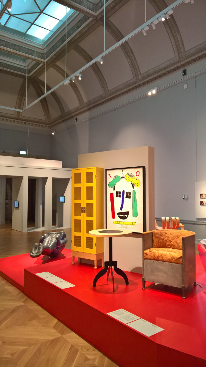 A selection of Swedish furniture from 1989, as seen at 1989 - Culture and Politics, The National Museum Stockholm