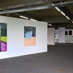 Paintings by Lise Valentiny, as seen at All in One, La Cambre Brussels
