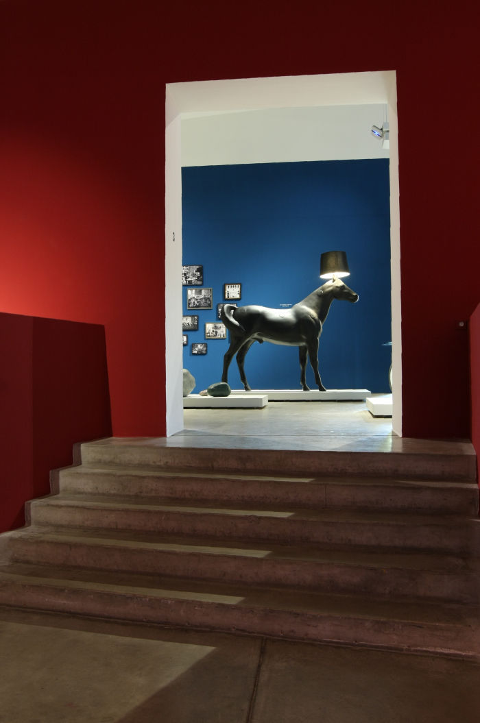 Horse Lamp by Front for moooi, as seen at Objects of Desire. Surrealism and Design 1924 - Today, Vitra Design Museum