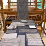 Results from the Textile Design class Grau, as seen at Rundgang 2019, Burg Giebichenstein Kunsthochschule Halle