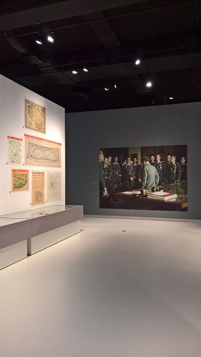 Plans for Ostpreußen, and Luftwaffe officers met their commander in chief, as seen at Design of the Third Reich, Design Museum Den Bosch