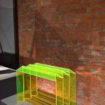 One Fold by Fabian Prissok, as seen at Ich bin ganz von Glas. Marianne Brandt and the Art of Glass Today, Sächsische Industriemuseum Chemnitz