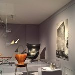 Works by Arne Jacobsen, as seen at Nordic Design. The Response to the Bauhaus, Bröhan Museum, Berlin