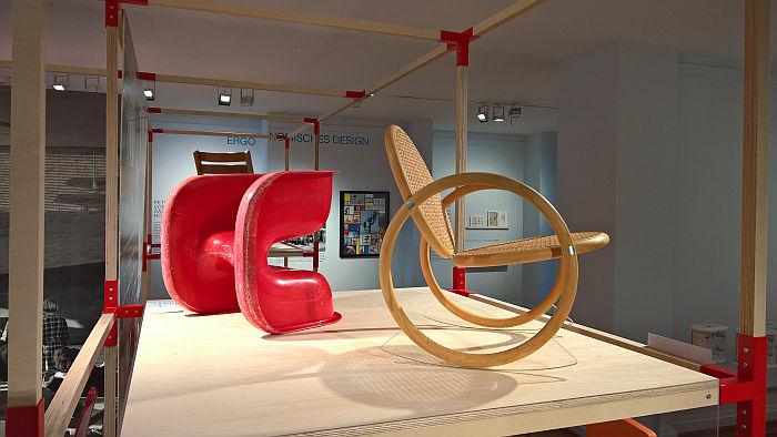 Cado by Peter Hiort-Lorenzen (l) & Vipp by Verner Panton (r), as seen at Nordic Design. The Response to the Bauhaus, Bröhan Museum, Berlin