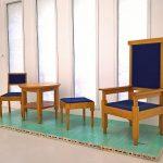 Furniture by Eberhard Schrammen, as seen at Unknown Modernism, Brandenburgisches Landesmuseum für moderne Kunst, Cottbus