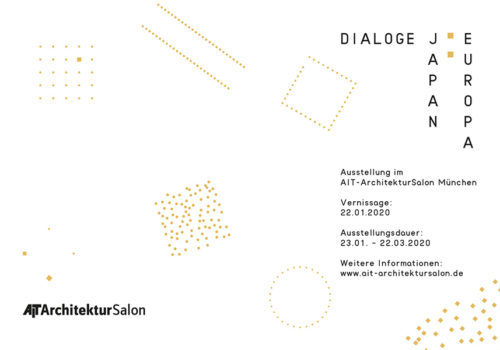 Dialoge Japan : Europa, the AIT-ArchitekturSalon, Munich