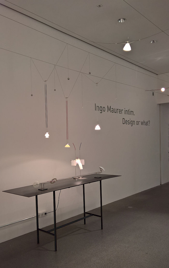 Ingo Maurer intim. Design or what?, Die Neue Sammlung – The Design Museum Munich