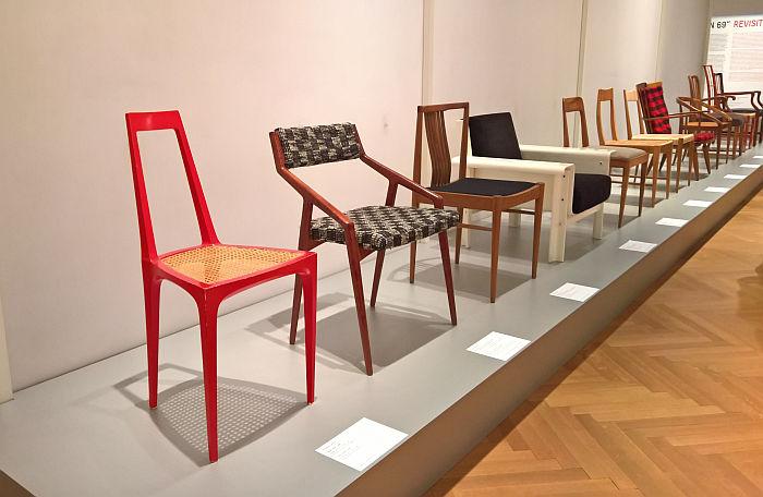 Austrian chairs originally presented at Sitzen 69, as seen at Sitzen 69 Revisited @ MAK – Museum für angewandte Kunst, Vienna