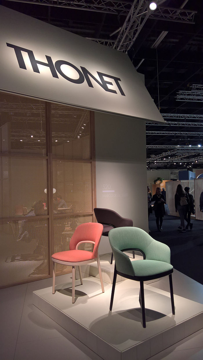 520 by Marco Dessí for Thonet, as seen at IMM Cologne 2020