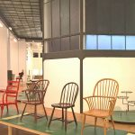 A selection of Windsor chairs by Thones and Haus & Garten, as seen at Bentwood and Beyond. Thonet and Modern Furniture Design, MAK - Museum für angewandte Kunst Vienna