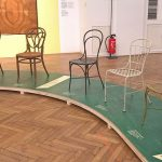 Iron wire chairs from ca 1870, as seen at Bentwood and Beyond. Thonet and Modern Furniture Design, MAK - Museum für angewandte Kunst Vienna